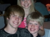 Tyler, Cara and Conner Hutson