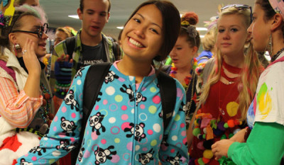 Fashion Disaster Day kicks off spirit week