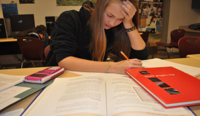Commentary: students are overloaded with work; homework committee addresses issue