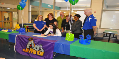 Delaney to play volleyball at James Madison University