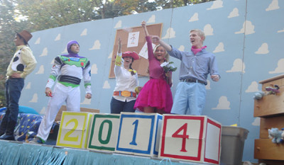 South Lakes hosts Pixar themed homecoming parade