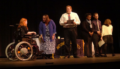 Juniors, seniors inducted into National Honor Society