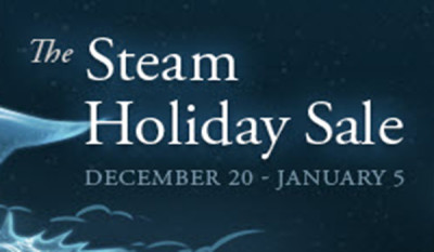 Steam sales boast post holiday savings