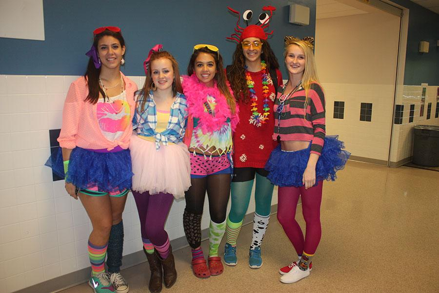 South Lakes Sentinel  Spirit Week Begins With Wacky Tacky Day