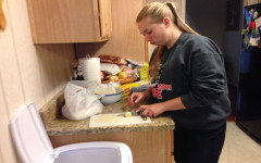 Trio of sophomores bake together for their MYP project