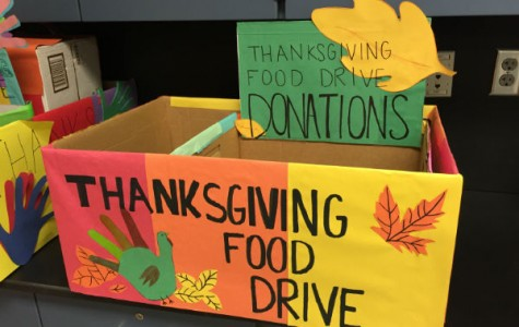 Thanksgiving drive feeds families