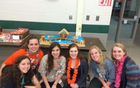 Students participate in annual Gingerbread Competition