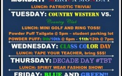 Homecoming 2015 spirit days and events