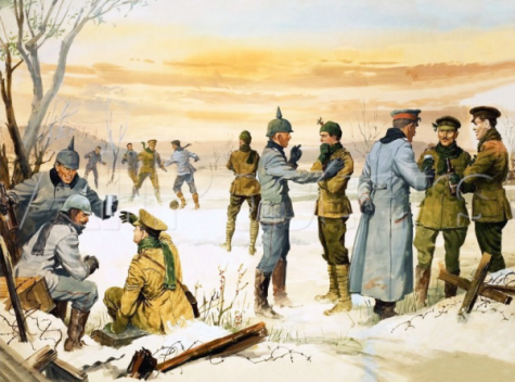 WWI Christmas Truce of 1914