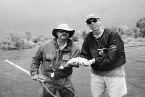 Fly fishing fanatic: Principal Butler shares his true passion