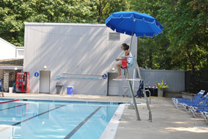 Students take advantage of summer lifeguarding positions