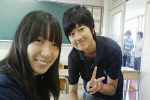 Japanese exchange student adjusts to American school life