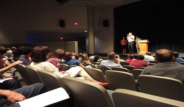 College Information Night begins senior college application process