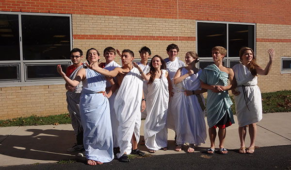Students dress for International Day