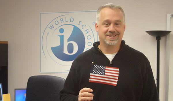 QRU? Marine veteran, IBMYP coordinator Tor Strom
