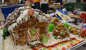 Gingerbread creations return for the holidays