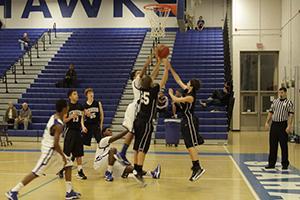 Freshman boys basketball loses to Madison, 45-38