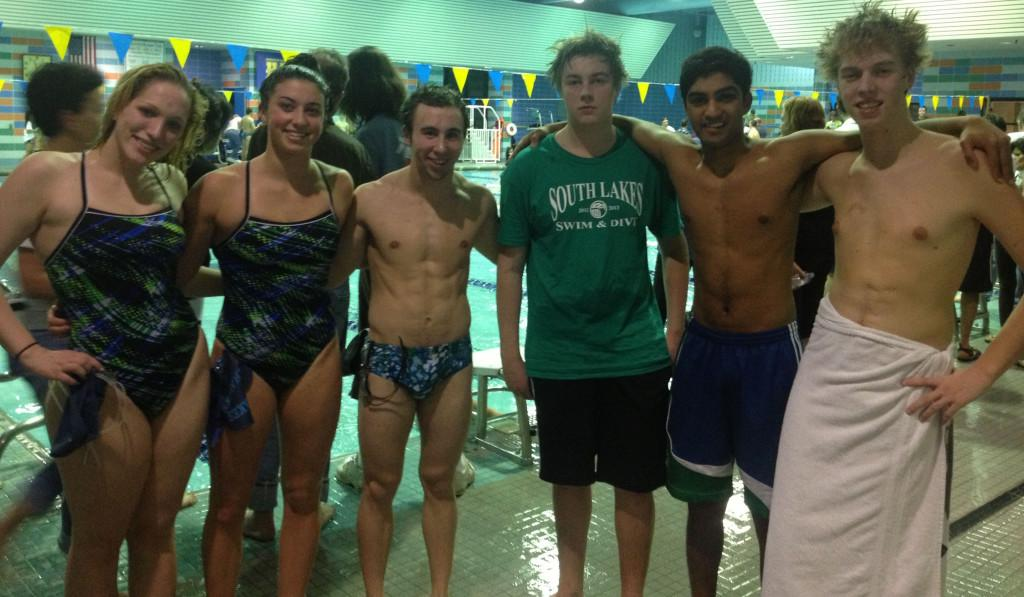Swim+and+dive+celebrate+senior+night%3B+boys+tie+while+girls+lose+to+Fairfax