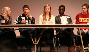 IB Diploma Candidates attend panel discussion with alumni