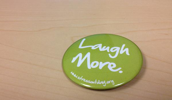 Students laugh more for Mental Wellness