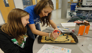 German 3 completes eight annual geography cookie project