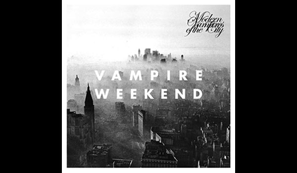Album cover for Vampire Weekends Modern Vampres of the City