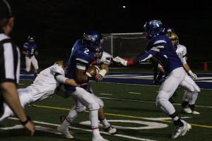 Varsity football loses homecoming football game to Langley 56-33
