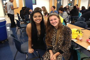 Students take a walk on the wild side during Safari Day