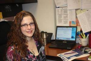 QRU? IBMYP coordinator Dana Lieberman