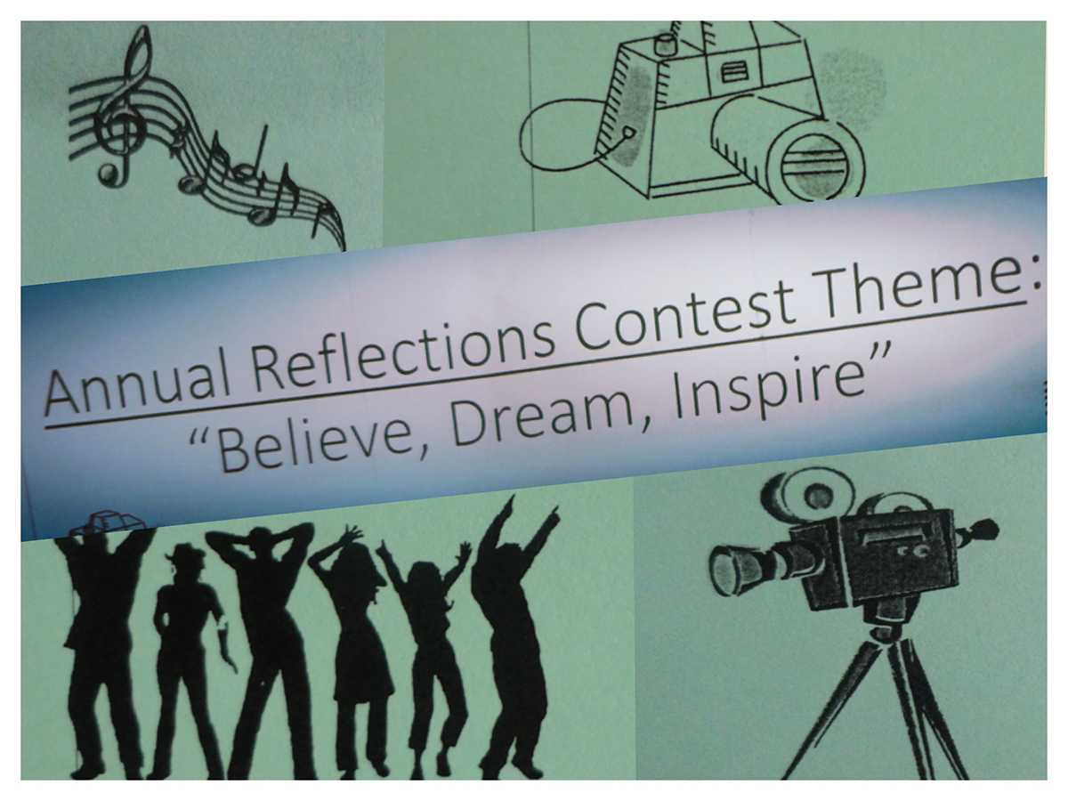 This year's PTSA Reflections contest theme is