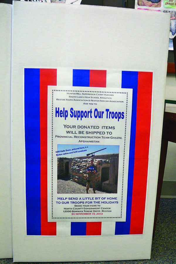 The+%22Help+Support+Our+Troops%22+drive+is+looking+for+donations+of+basic+toiletries+for+troops+in+Afghanistan.+Boxes+are+located+in+the+main+office%2C+activities+office%2C+and+JROTC+classroom.