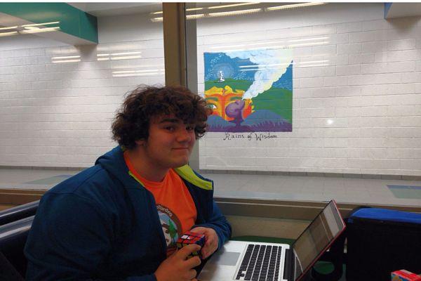 Sophomore Jacob Kemp