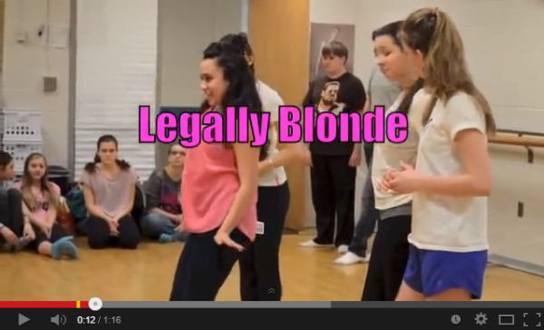 Legally Blonde cast promotes play through video blogs