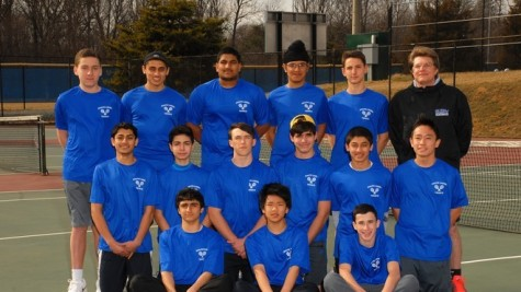 Varsity boys tennis looks to finish season strong with two final matches