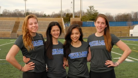 Senior Danielle Hale leads girls track and field to victory in Wildcat Track Classic