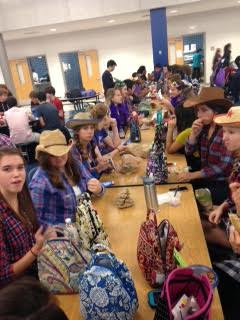 Students go all out on Destination Day