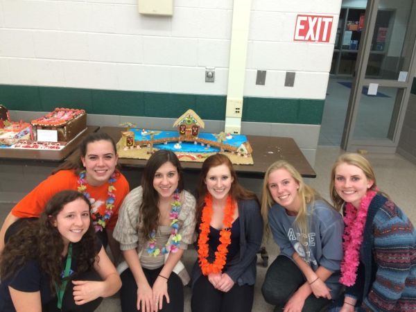 Seahawks show of their creativity during the annual gingerbread competition.