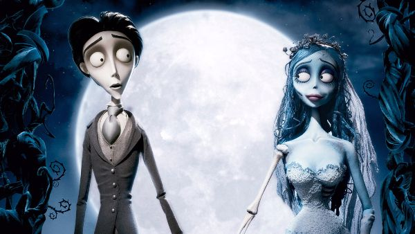 Corpse Bride (2005) No one does delightfully scary quite as well as Tim Burton, who tells the story of Victor, who finds himself stuck in the underworld and accidentally marries a corpse bride. This animation does gothic romance at its absolute best and is perfect for a movie night.