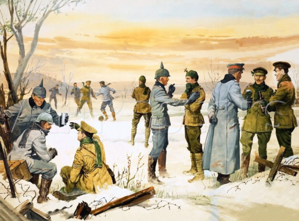 Wwi Christmas Truce.Wwi Christmas Truce Of 1914 South Lakes Sentinel