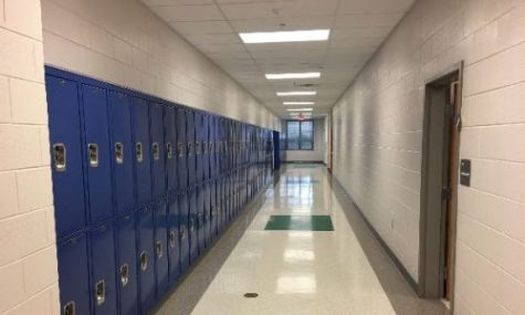 Lockers in the Hallways of South Lakes High, Photo Courtesy of Pramod Mamillapalli