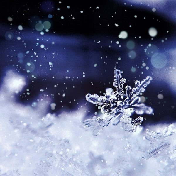 Picture of a Snowflake, Courtesy of www.beautifulnow.is