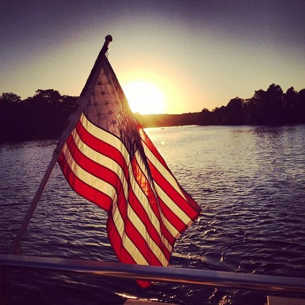 Every heart beats true for the red, white and blue this weekend on Memorial Day. Photo courtesy of www.annwolfmusic.com