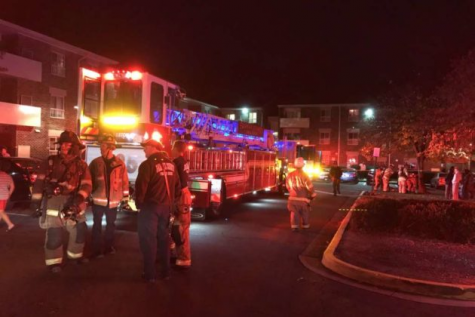 Reston apartment fire hospitalizes 4 residents