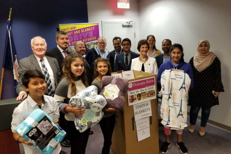 Coat and Blanket Drive for Syrian Refugees