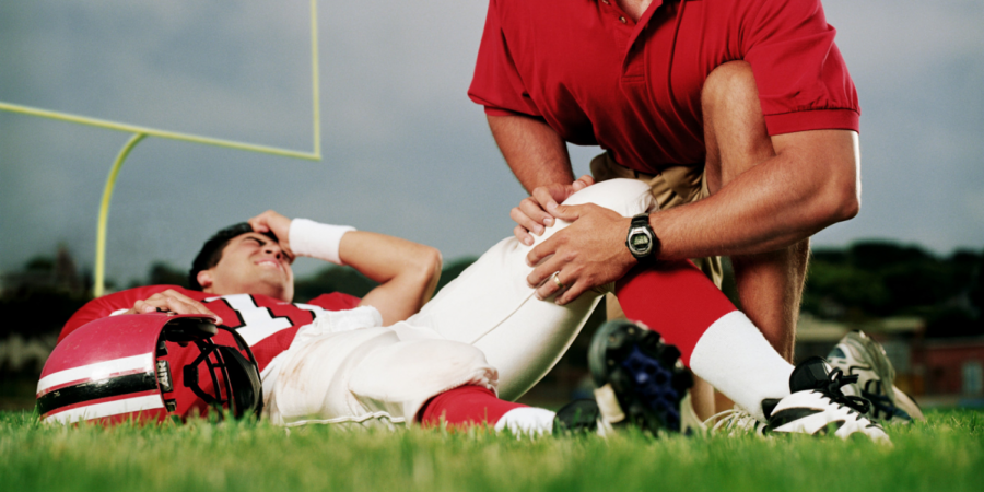 Major injuries in sports