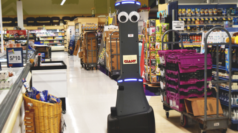 Meet Marty the Robot at your local Giant
