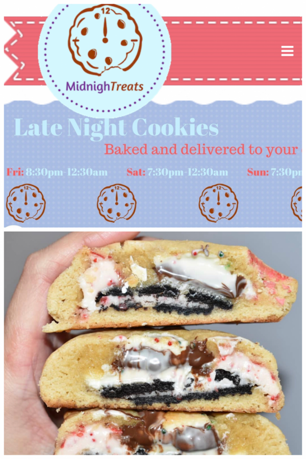 Midnight Treats: a cookie delivery service near you