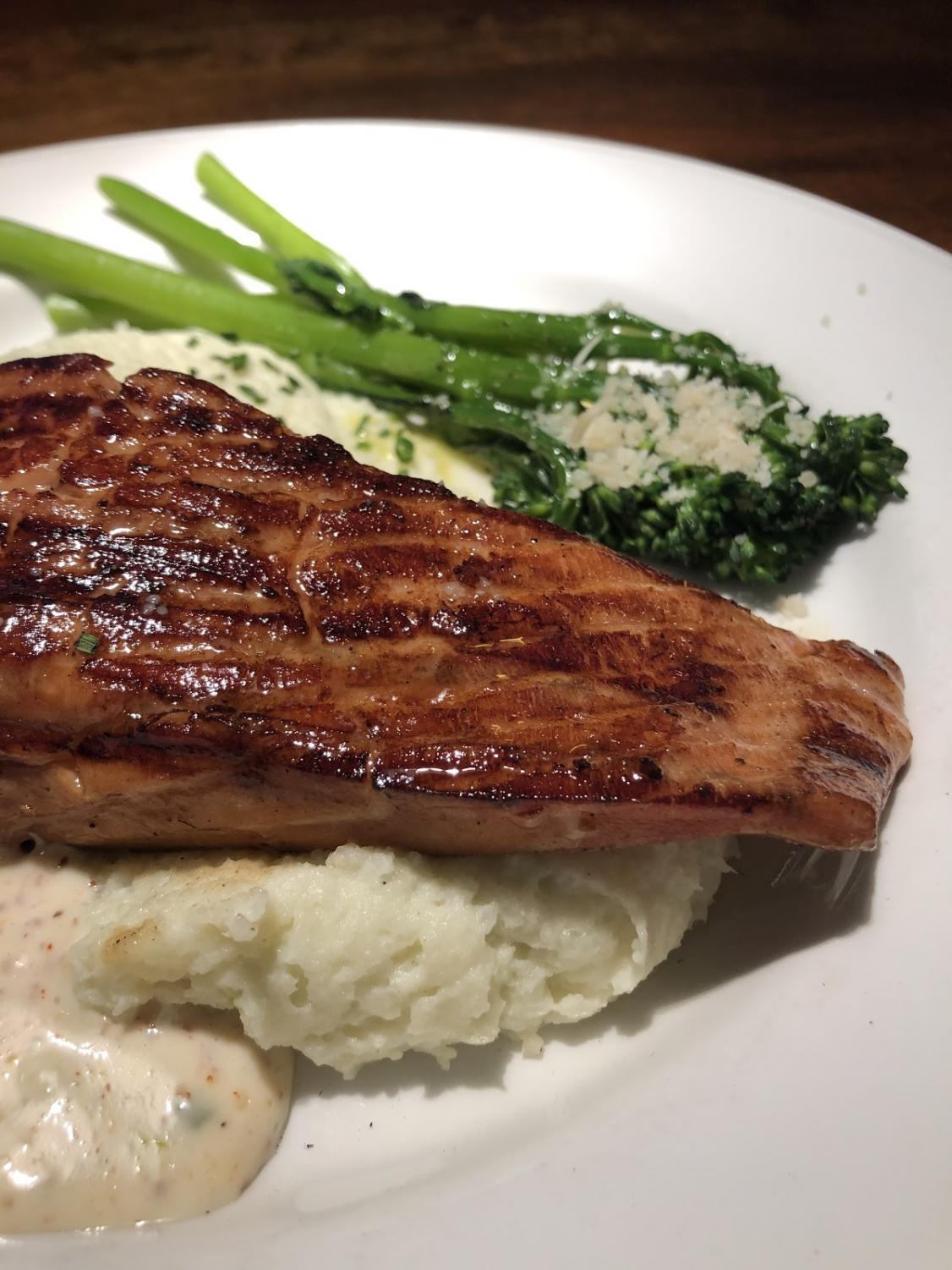Photo of the Short Smoked Salmon Filet at Coastal Flats (in Fairfax), taken by Miranda Sandoval