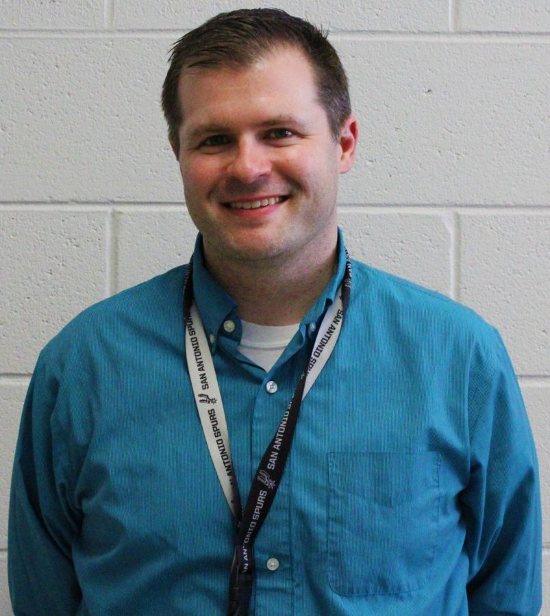 Outstanding Teacher Nominee: Mr. Evan Millar