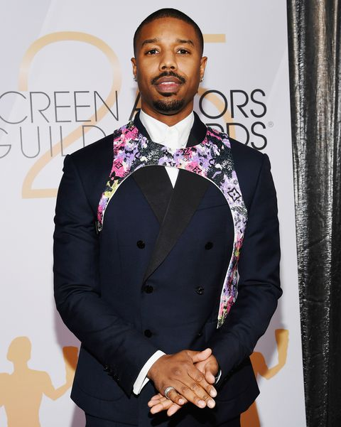 Michael B. Jordan partakes in the harness trend